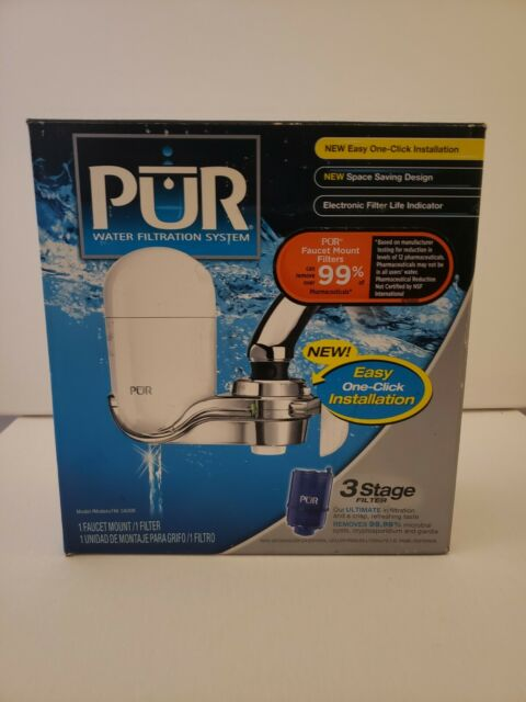 pur fm 3400b faucet mount water filter purification system