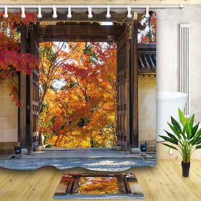 12 hooks shower curtains garden curtains