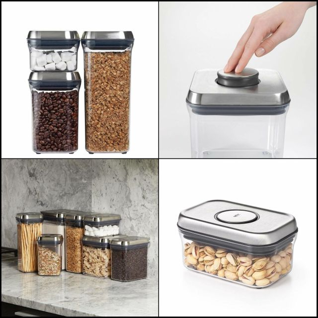OXO SteeL Airtight Food Storage POP Container - 2
