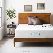 Lucid 6 8 10 And 12 Inch Dual Layered Gel Foam Mattresses
