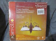 New Portfolio 5 Light Chandelier Tavern Collection 096022 Aged Antique Bronze