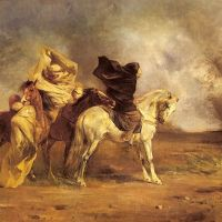Caught in a sandstorm: An analogy