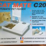 Cat Mate C20 Automatic Pet Feeder Independent 48 Hour Timers Serves 1 Or 2 Meals For Sale Online Ebay