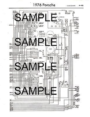 1976 bmw 2002 76 wiring diagram guide chart 76bk  ebay