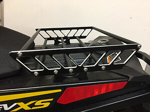 details about ski doo 120 linq snowmobile rack luggage cargo system tunnel bag tunnel rack