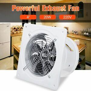 details about high speed exhaust fan toilet kitchen bathroom window glass small ventilator