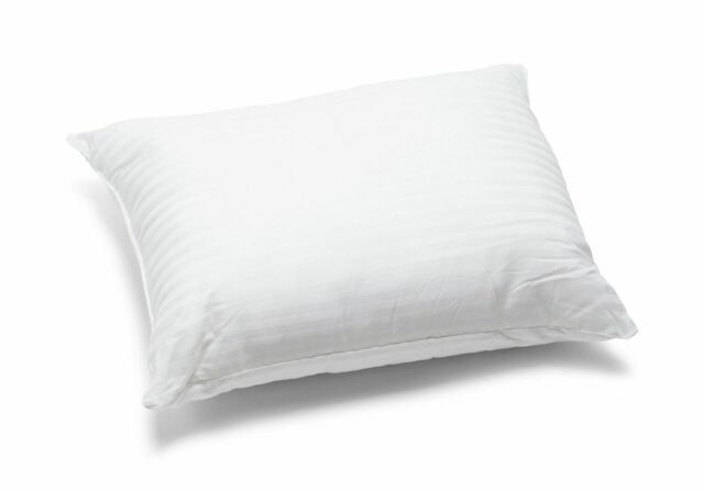 2 x luxury 100 duck feather pillow comfortable extra filling hotel quality