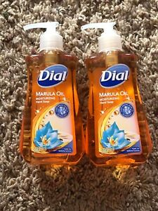 Dial Liquid Hand Soap, Miracle Oil Marula - 7.5 Ounce. (2-pack)