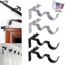support curtain rod brackets