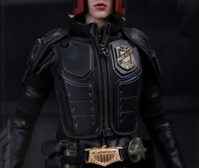 Vts Toys 1  13 Girl Judge Dredd Epoch Cop Collectible Figure Model
