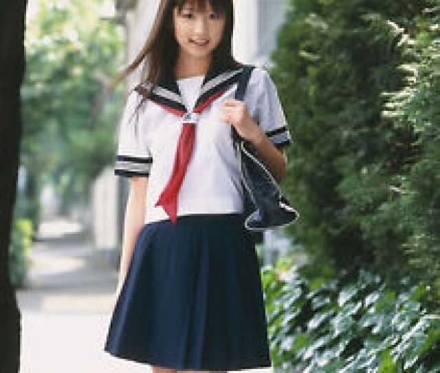 Image Is Loading Japanese Japan School Girl Short Sleeved Uniform Cosplay