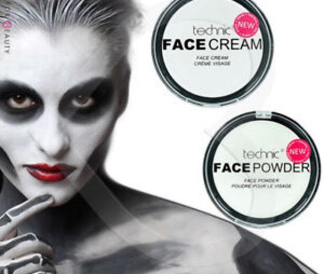 Image Is Loading Technic White Foundation Cream Face Paint Or Powder