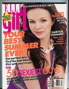 Elle Girl Magazine June/July 2005 Amber Tamblyn EX ...