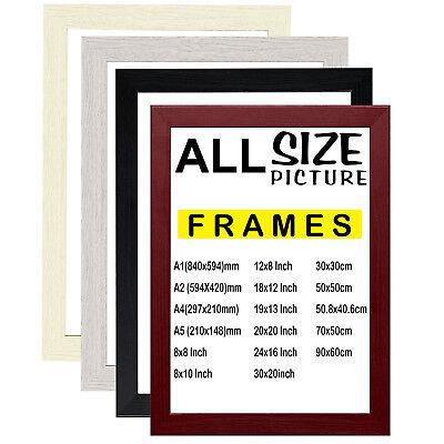 a1 a2 a3 a4 a5 picture frame photo frame walnut poster frame black white oak