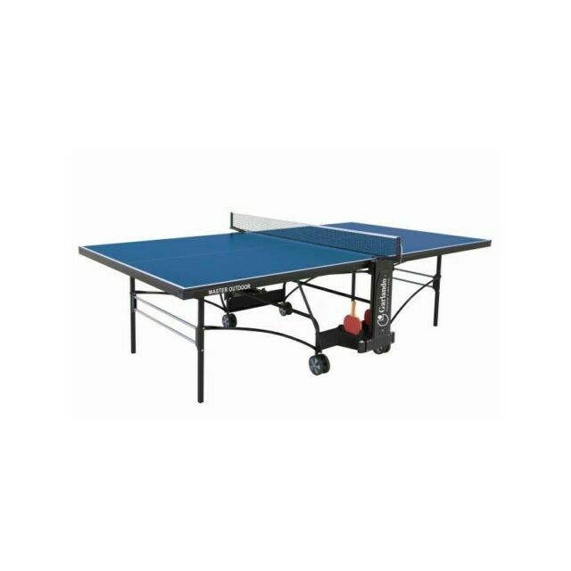 Garlando Master Outdoor Blu Tavoli Da Ping Pong