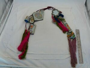 Antique Chinese Silk Necklace KY-17