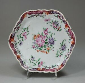 Antique Chinese famille rose stand, Qianlong (1736-95),