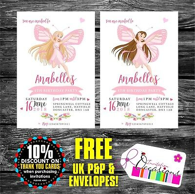 personalised fairy birthday party