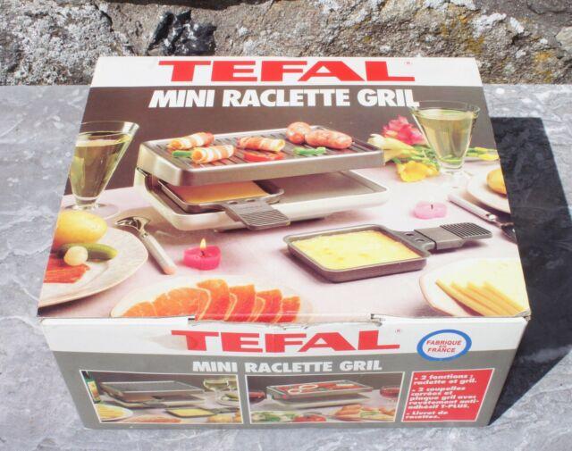 mini raclette gril tefal pour deux duo