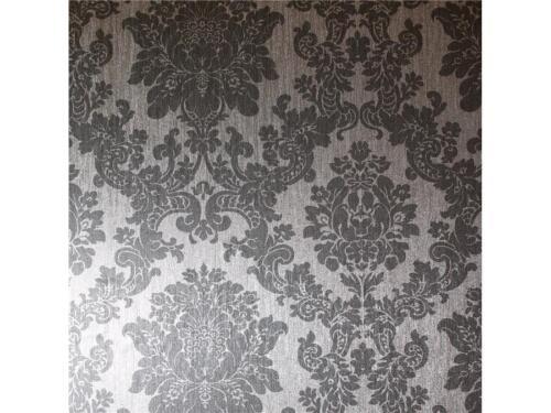 294401 arthouse papier damassee effet metallique argent brillant luxe papier peint pristonnet com