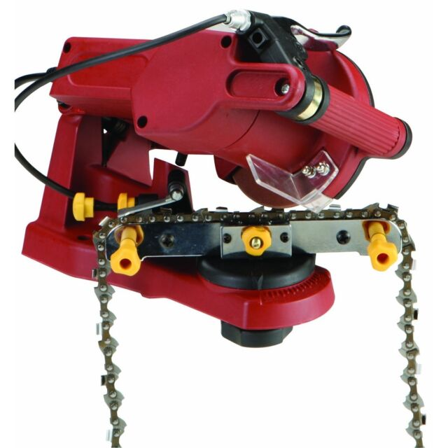 Chicago Electric 68221 Chain Saw Sharpener 4200 Rpm Grinding Sd