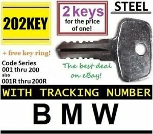 details about 2 bmw roof rack keys made by thule car ski lock bicycle hauler snowboard carrier