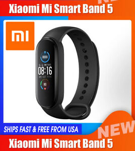 Xiaomi Mi Band 5 GLOBAL Version Large AMOLED Screen, Magnetic Charge Smartwatch