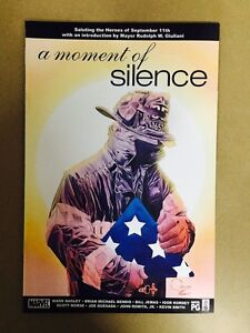 A MOMENT OF SILENCE #1 MARVEL COMICS (2002) 9/11 TRIBUTE KEVIN SMITH BENDIS