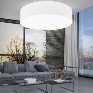 details sur luminaire plafond design lampe salon couloir eclairage textile blanc led