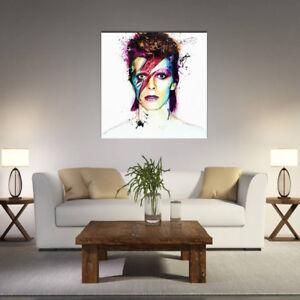 details sur peinture huile tableau abstraite moderne toile fille colore mural decor salon nf