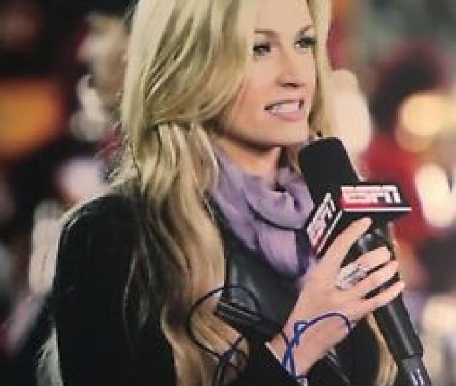 Erin Andrews Hot Sexy Sports Reporter Signed X Autographed
