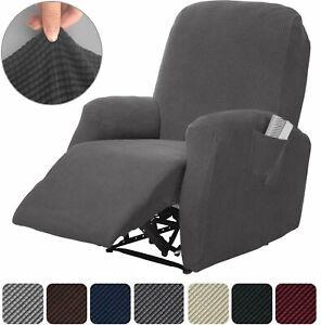 details sur fauteuil inclinable extensible canape housse meuble protecteur spandex pique