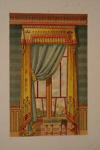 details sur fou01 gravure tenture murale rideau fenetre style egyptien decoration interieure
