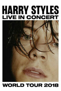 details about harry styles 2018 world tour rock music fabric poster home decor h 298