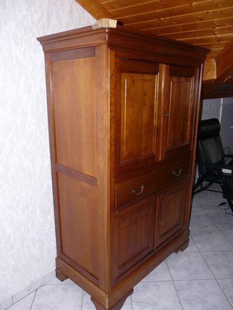 meuble t v louis philippe merisier