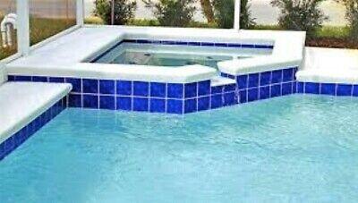 cobalt blue pool porcelain pool tile 6 x6 6x6 frostproof 45 sq ft sf ebay