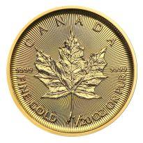 1/20 oz Gold Maple Leaf - 5 Dollar Kanada Goldmünze Div. Jahrgänge