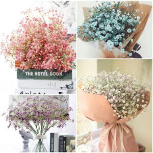 1PC Home Wedding Party Decor Artificial Gypsophila Fake Silk Flowers Holding