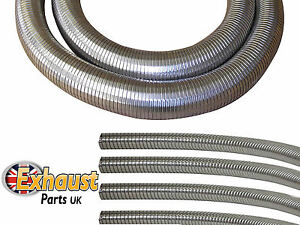 details about flexible tubing polylock stainless steel heavy duty exhaust generator pipe diy