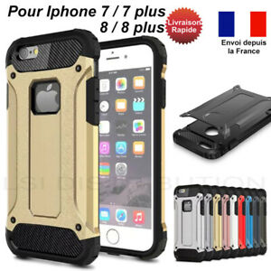 details sur coque iphone se 2020 7 8 plus solide anti chocs tpu polycarbonate