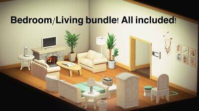 Animal Crossing New Horizon Bedroom Living Room Deal ... on Animal Crossing Living Room Ideas New Horizons  id=23773