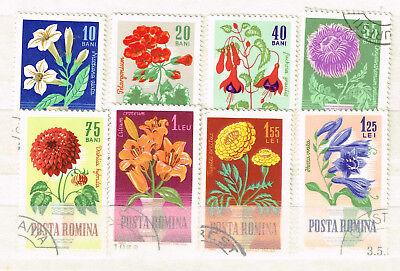 Romania Flora Flowers Plants Set 1964 Ebay