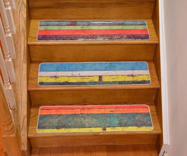 Natural Area Rugs Gardenia Stair Tread Set Of 13 For Sale Online | Natural Area Rugs Stair Treads | Non Slip | Malvern | Slip Resistant | Polypropylene Carpet | Beige