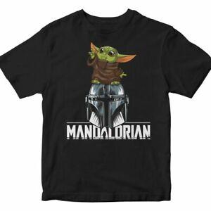 🔥 Camiseta STAR WARS 2020 Mandalorian Friki Hombre Mujer Cine Ficción 🔥