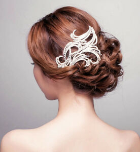 vintage bridal hair b crystal rhinestone headband hair accessories prom tiara ebay