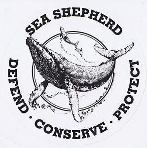 Sea Shepherd Vintage Logo Sticker - Whale Wars - Anti ...