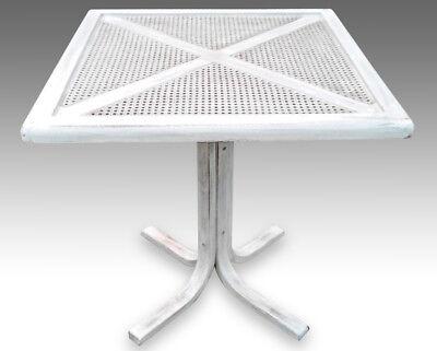 Tavolo rotondo in legno diametro cm 100 4 sedie in ferro e legno porta vivande. Tavolino Shabby Chic Provenzale Vintage Ebay