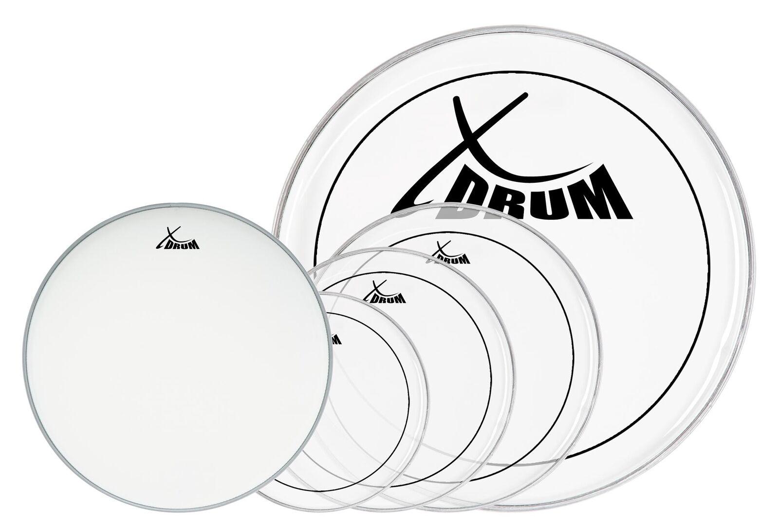Xdrum Session Schlagzeug Fellset Kompl 10 12 14 22 14