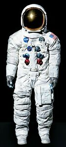 LIFE SIZE NEIL ARMSTRONG SPACE SUIT APOLLO 11 FIRST MAN ON ...
