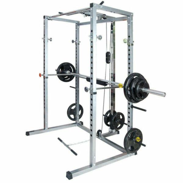 merax sw000014 fitness power rack